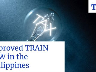 approved train tax law in the Philippines
