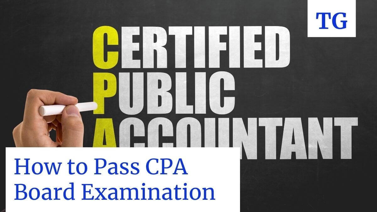 how to pass CPA board exam Philippines