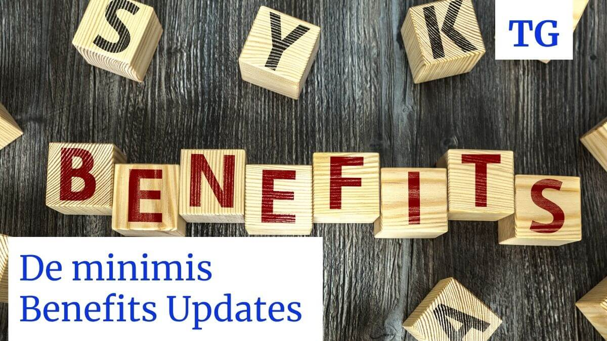 Treatment of De minimis Benefits Philippines