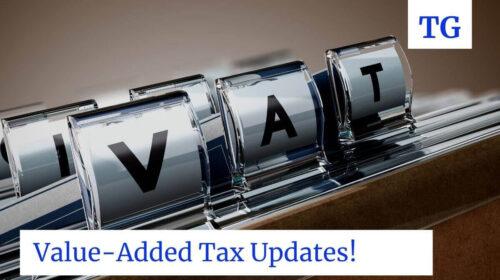 photo shows VAT
