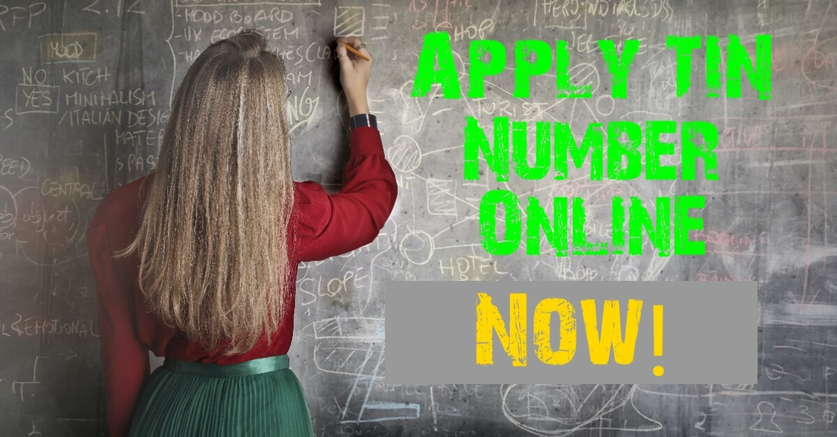How to apply online tin number