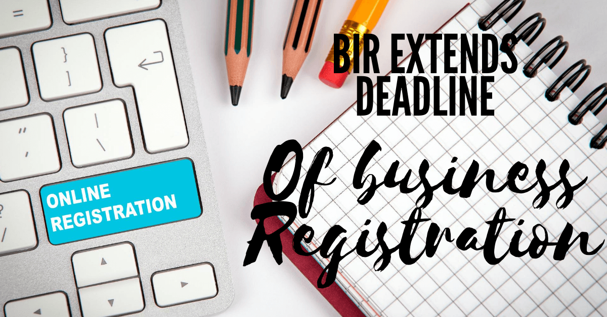 Online Business Registration Extensions