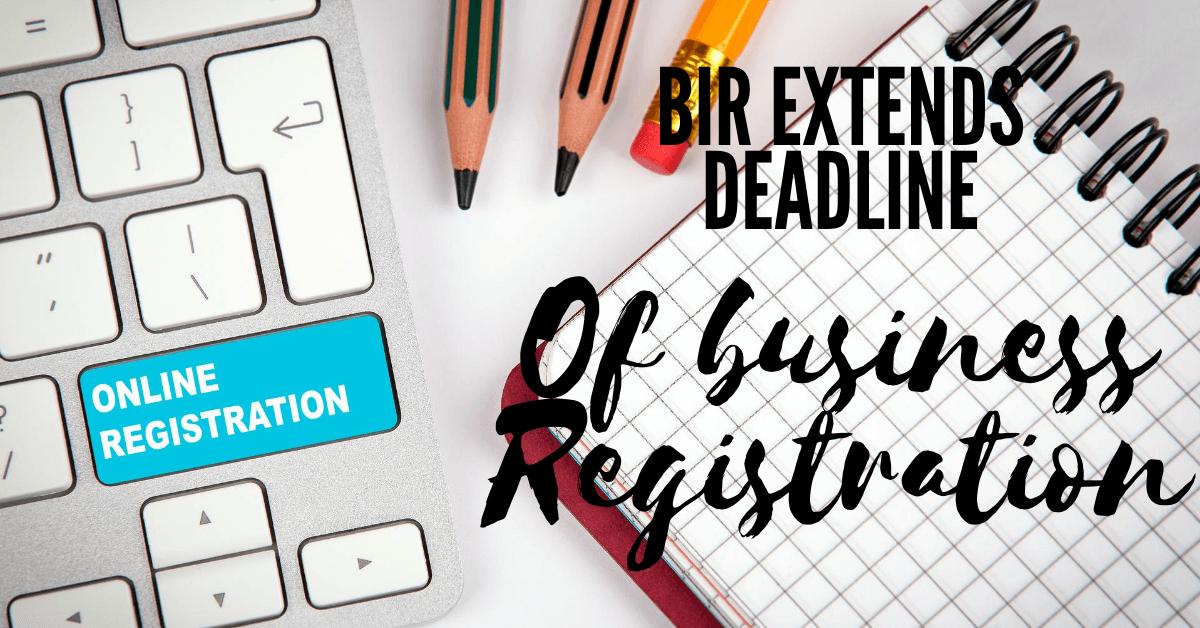 Online Business Registration Extensions