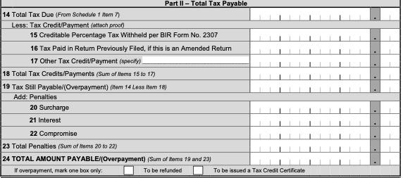 bir form 2551q